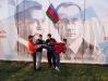 Junge Putin-Fans